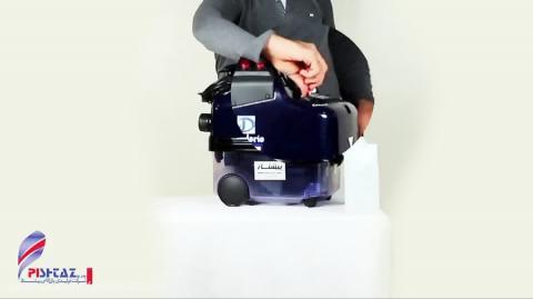 فیلم کامل آموزش راه اندازی دستگاه بخارشوی صنعتی دسیدریو