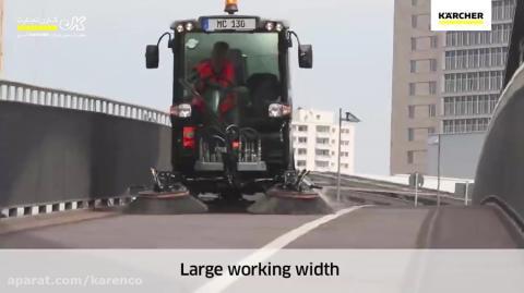 سویپر با راننده